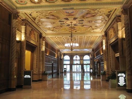 Inside Millenium Biltmore Hotel