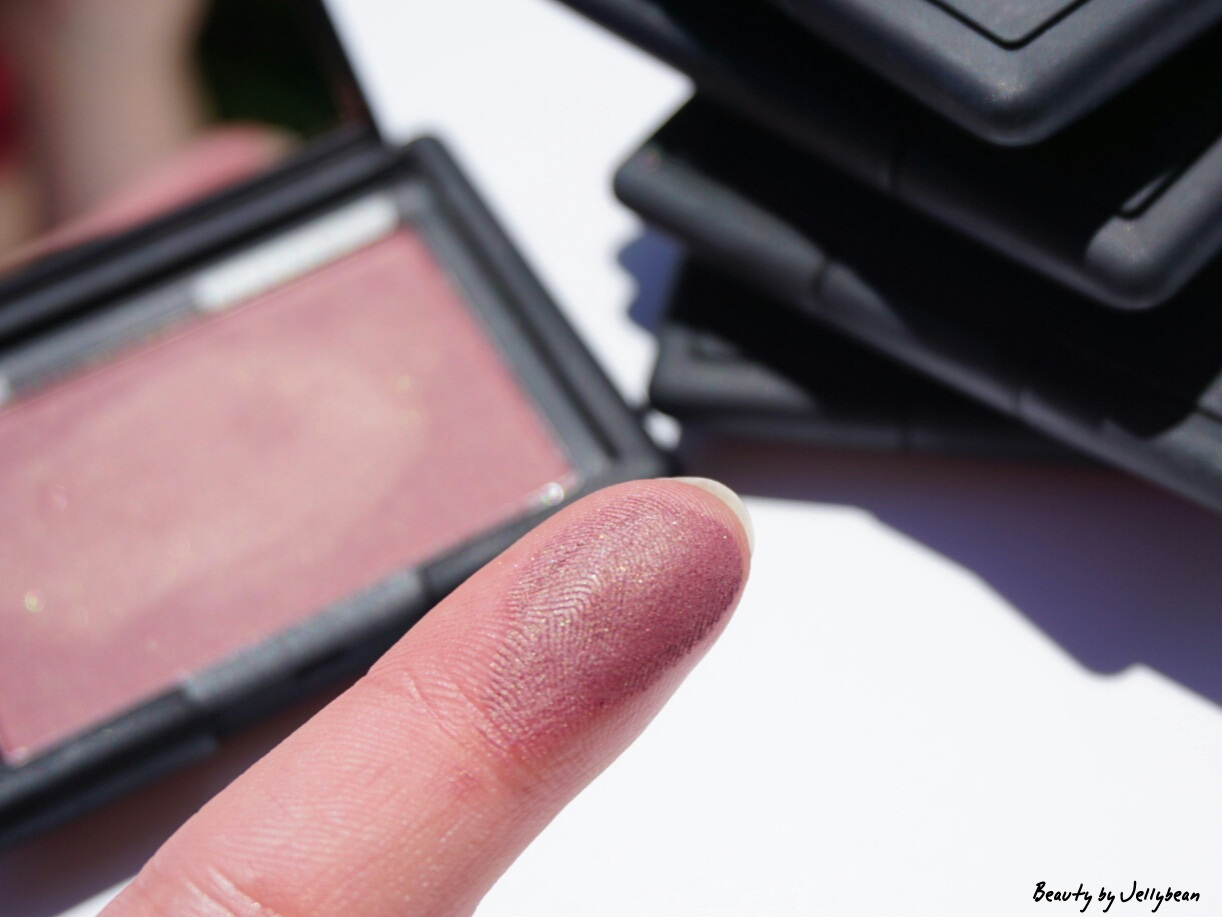 nars blush sin swatch review