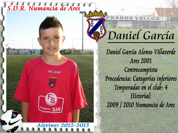 ADR Numancia de Ares. Dani García.