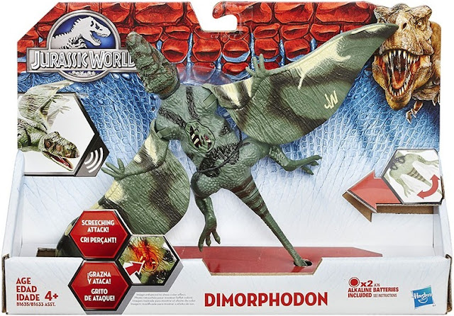 Sản phẩm Khủng long dơi Dimorphodon Jurassic World Hasbro B1635/B1633 chất lượng cao