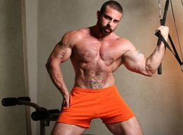 Incredible Hairy Chest Men and Muscular Daddy Hunks - Photos Set 4