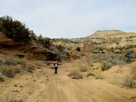 Bradley in Eagle Canyon
