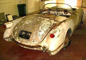 Abandoned Corvette C1