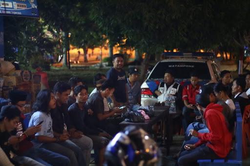 Polantas Bone Bersama WIB dan Para Musisi Bone Galang Dana Korban Gempa dan Tsunami For Sulteng