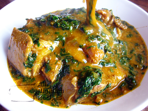 How to cook ogbono soup.