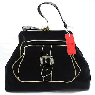 Roberta Di Camerino NEW  Black Bag