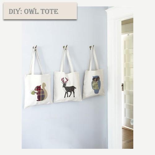 My Owl Barn Diy Tote Bags