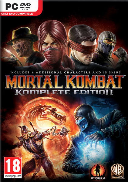 Cover Of Mortal Kombat Komplete Edition (2013) Full Latest Version PC Game Free Download Resumable Links at Alldownloads4u.Com