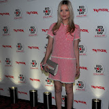 WWW.ENTSIMAGES.COM - Laura Whitmore  at Red Nose Day One Night Changes Everything Event at Royal Opera House Covent Garden London February 28th 2013                                                         Photo Mobis Photos/OIC 0203 174 1069