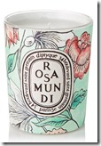 Diptyque Rosa Mundi Scented Candle