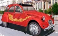 Citroën 1985 2 CV AZKA Fireball