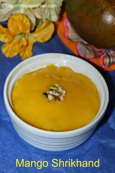 Mango Shrikhand Recipe | Amrakhand Recipe | Easy Mango Recipes