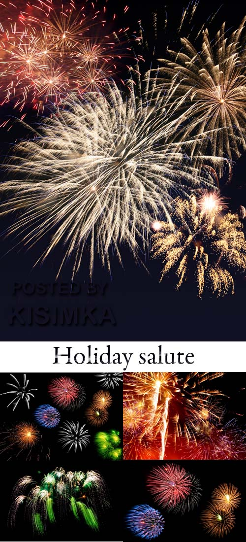 Stock Photo: Holiday salute 3