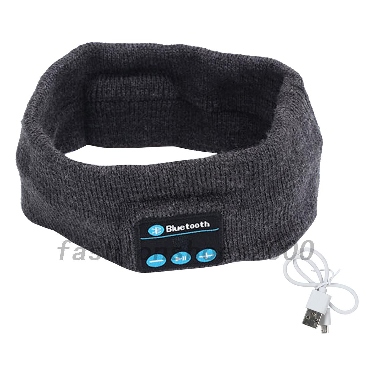 sport jogging bluetooth musik stirnband kopfband mit. Black Bedroom Furniture Sets. Home Design Ideas