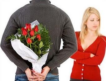 عندما تهدى حبيبتك ورده