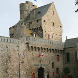 Château : entrée de l'Hôtel de Ville