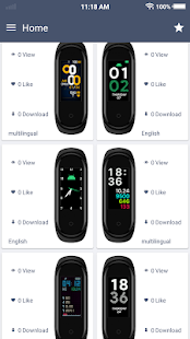 Download MiBand4 Watchfaces -Watchface for Xiaomi Mi Band 4 For PC Windows and Mac apk screenshot 2