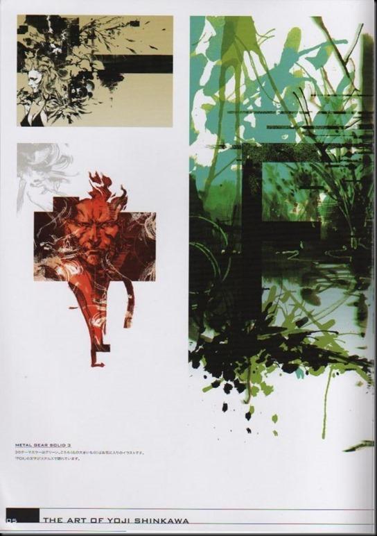 The Art of Yoji Shinkawa 1 - Metal Gear Solid, Metal Gear Solid 3, Metal Gear Solid 4, Peace Walker_802479-0009