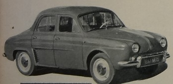 Renault 1960 Dauphine