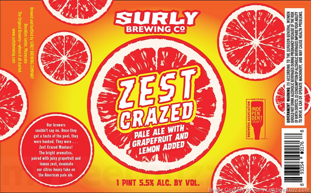 Surly Brewing Adding Zest Crazed 16oz Cans