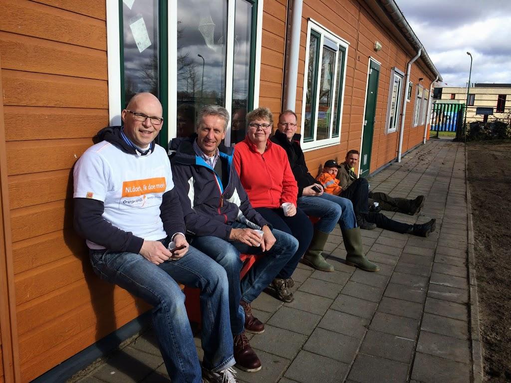 Het NL Doet Team in de middag, Stan en Wouter zijn weer naar huis