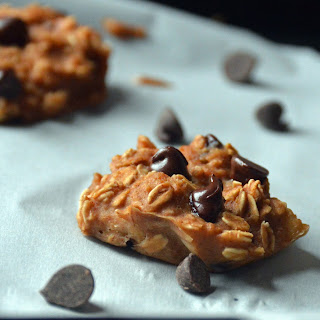 Breakfast Peanut Butter Chocolate Chip Cookies.