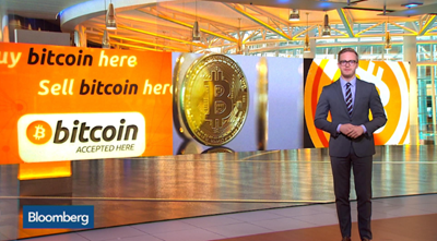 Bloomberg promoting bitcoin and cryptocurrency
