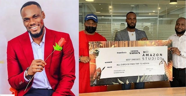 I Slept As A Tenant And Woke Up A Landlord' – BBNaija's Prince Says After Receiving A Plot Of Land As Pre-Birthday Gift [VIDEO]