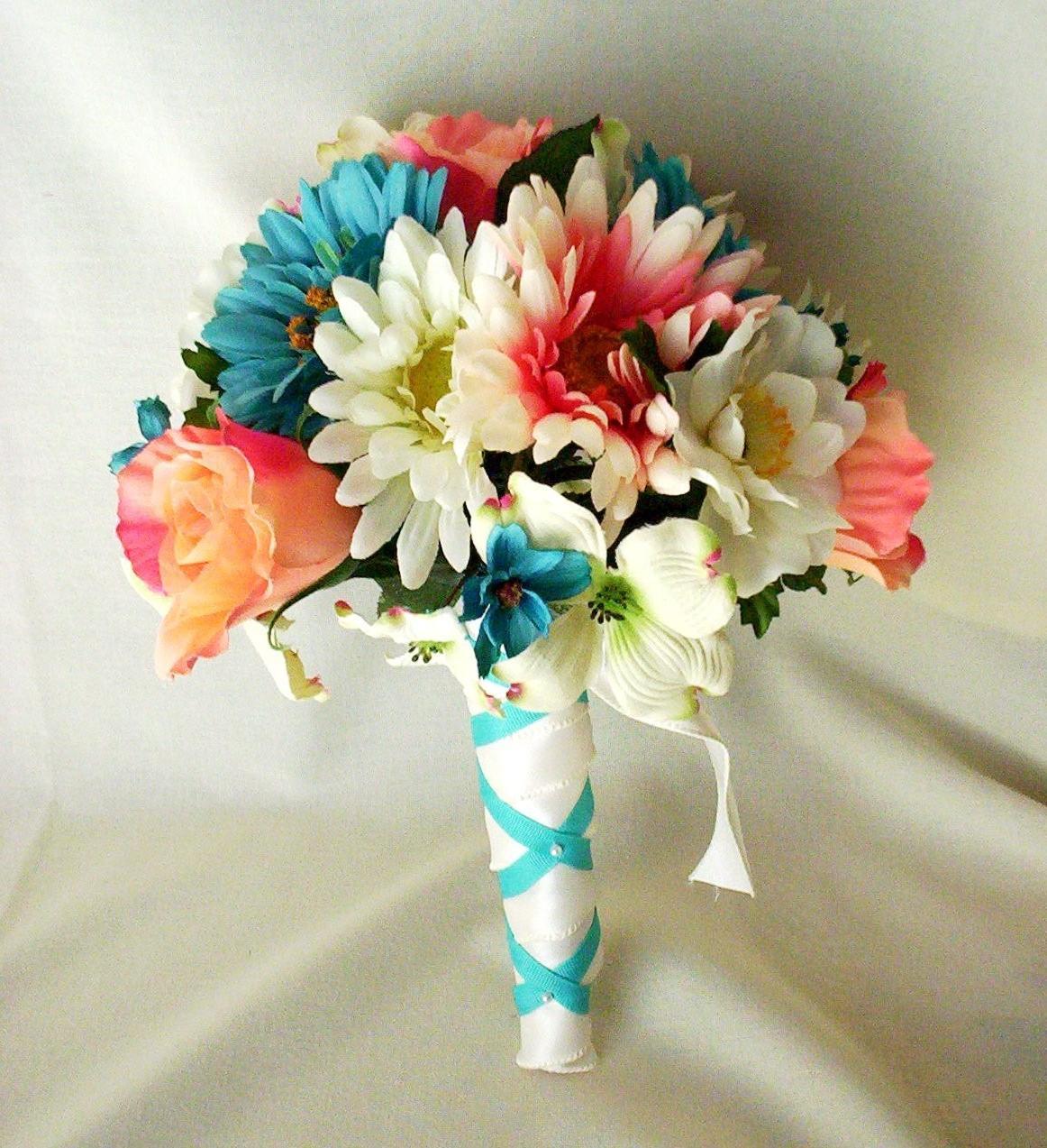 Beach Wedding Flowers: Letha's Blog: Silk Wedding Flowers Beach