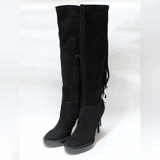 Burberry Fringe Boots