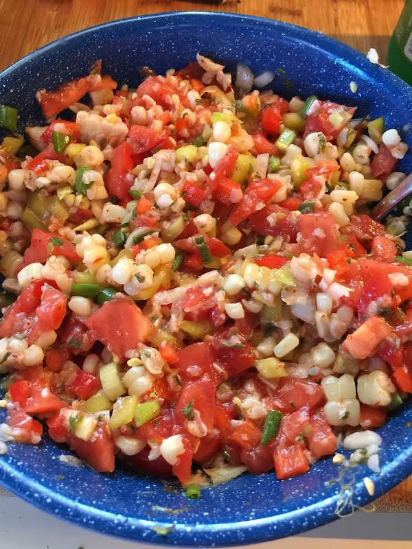 Fire Roasted Corn Salsa Recipe