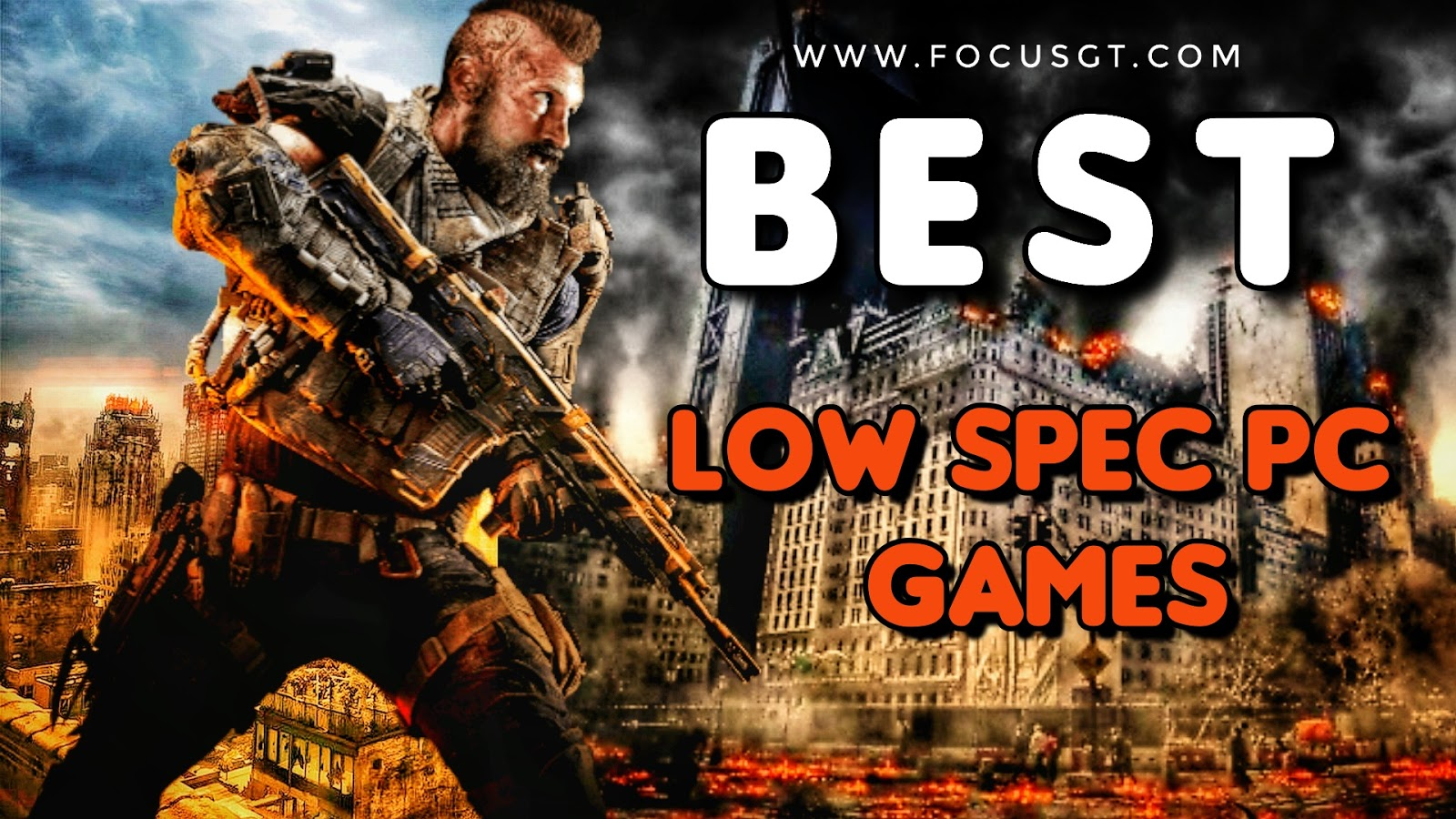 TOP 10 Games for Low SPEC PC (512 MB VRAM / 1 GB VRAM / Intel HD Graphics) | Focus GT