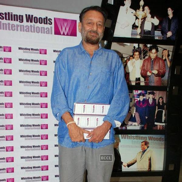 Shekar Kapur during Whistling Woods International Institute's graduation ceremony, held on July 28, 2014.(Pic: Viral Bhayani)
