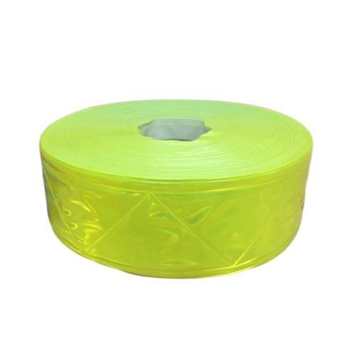 Dây phản quang nhựa 5cm vàng chanh - BHK0020