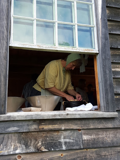 Yummy baking at the 1860 Doucet Farm, Acadian Historical Village, New Brunswick
