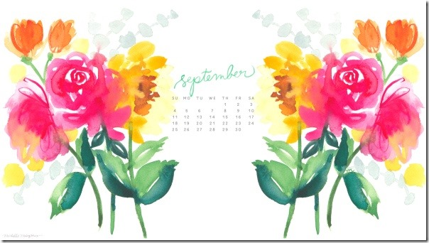 Settembre 2016 Calendario Wallpaper desktop