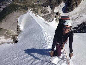 The famous ridge !