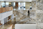 Algonquin Staircase, Tile Floor and Wall Panels and Algonquin Skin Cut Wall on the right