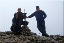 Arburu mendiaren gailurra 1.045 m. - 2015eko abenduaren 12an