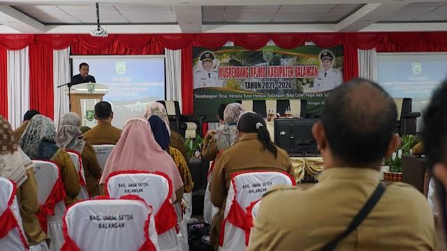 Musrenbang RPJMD 2021-2026, Terjemahkan ke Dalam Visi Misi Kepemimpinan Abdul Hadi- Supiani