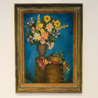 Martin Rosenthal Signed Modernist Still Life Oil Painting