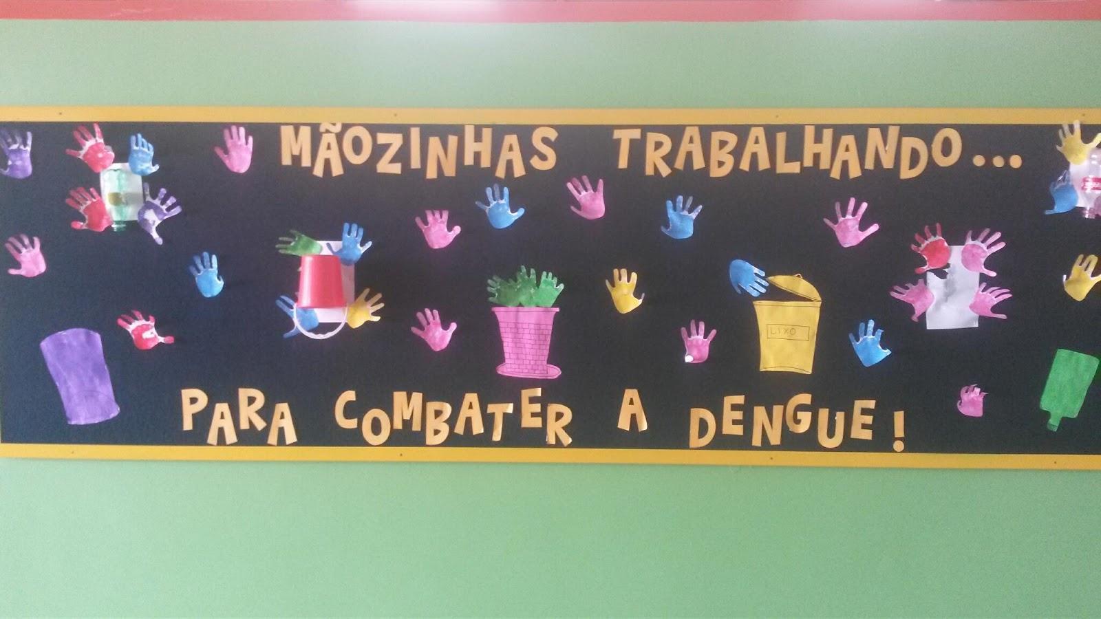 Super Jardim de Infância 603 do Recanto das Emas: Projeto xô dengue HZ65