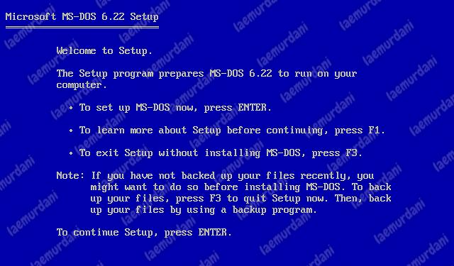 Sistem Operasi Komputer MS DOS