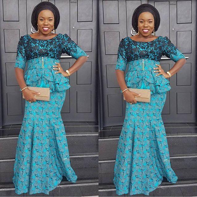 Nigerian Ankara Styles for Ladies