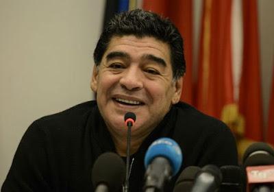 Diego Maradona se voit bien à la FIFA