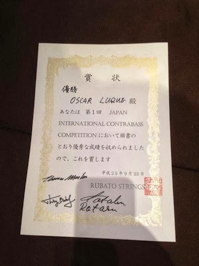Se trata del segundo premio internacional que Luque conquista en este año 2013