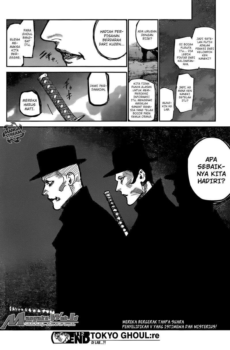 Tokyo Ghoul: Re Chapter 112-19