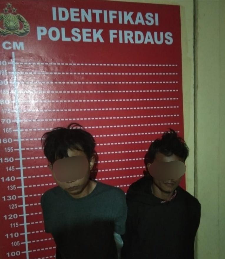 Polsek Firdaus Amankan Dua Pria Gagal Transaksi dan Pesta Sabu