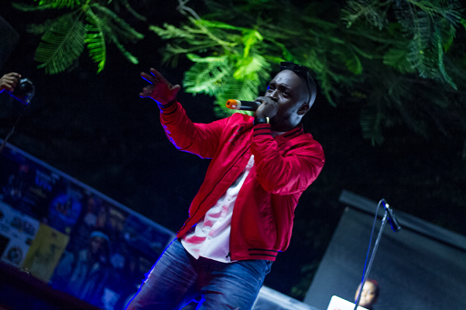 MI Abaga Performs 'The Love EP' At A Private Listening Session For Fans