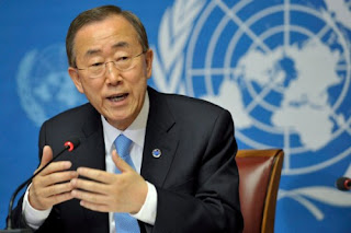 Ban Ki-moon: ma visite une occasion pour constater de visu une tragédie oubliée par la communauté internationale